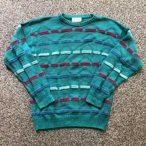 Lord Jeff sweater size L great colors
